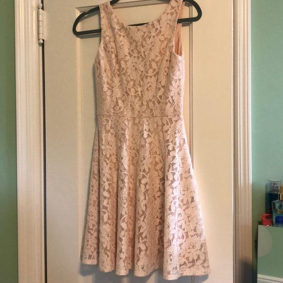 Speechless Dresses & Skirts - Speechless (Macy's)- Blush colored lacy dress